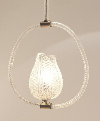 Barovier & Toso hanging lamp, 1930s