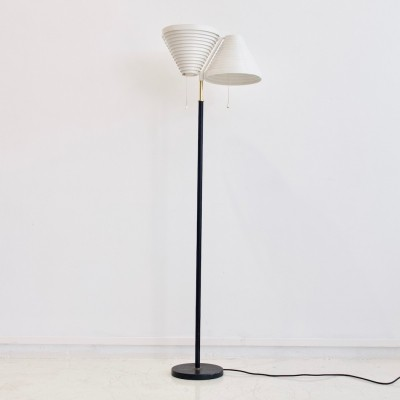 Alvar Aalto Model A 810 Floor Lamp