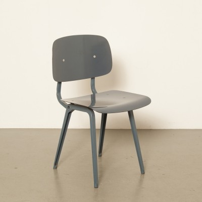 3 x Revolt dining chair by Friso Kramer for Ahrend de Cirkel, 1950s