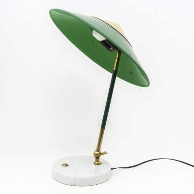 Articulated table lamp by Stilux Milano, late 1950s