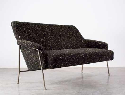 Theo Ruth for Artifort 'love seat' sofa