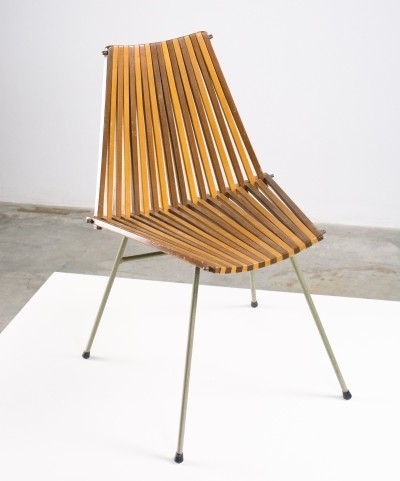 Very rare 'slats' chair' by team Rohé