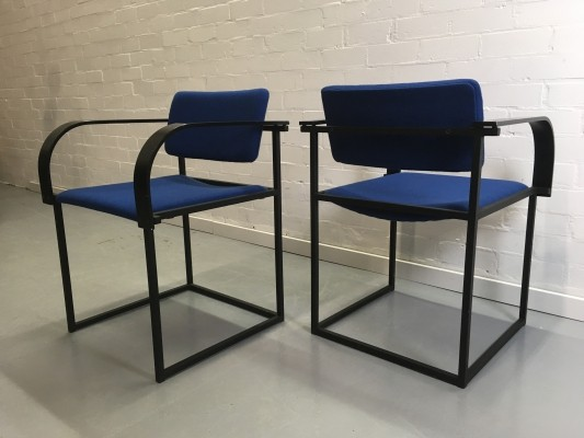 Set of 4 FM80 dining chairs by Karel Boonzaaijer & Pierre Mazairac for Pastoe, 1980s