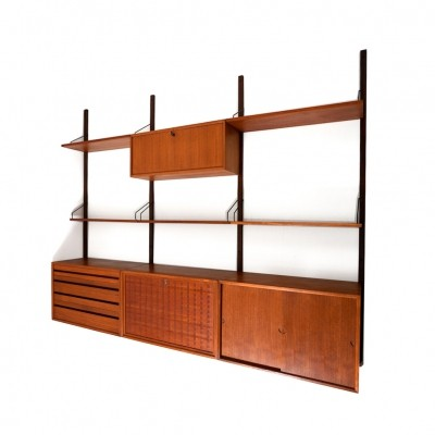 Early Poul Cadovius Royal System in Teak 1960s