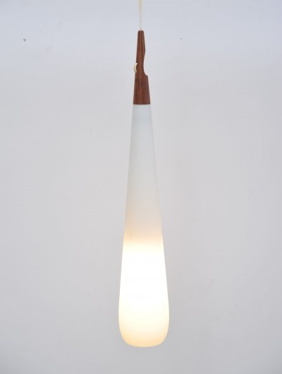 Hanging lamp by Östen Kristiansson & Uno Kristiansson for Luxus, 1960s