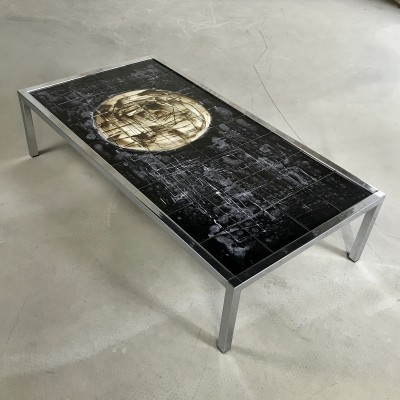 Large Mid-Century Belarti Coffee Table, 1960s