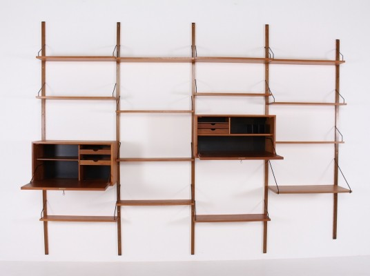 'Royal System' Wall unit by Poul Cadovius