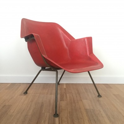 Polyester armchair 416 by Wim Rietveld & André Cordemeyer for Gispen