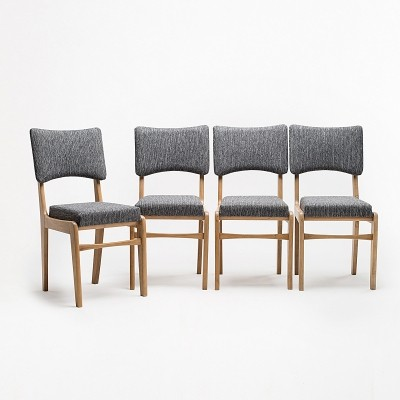 Set of 4 type 296 chairs by R. T. Hałas