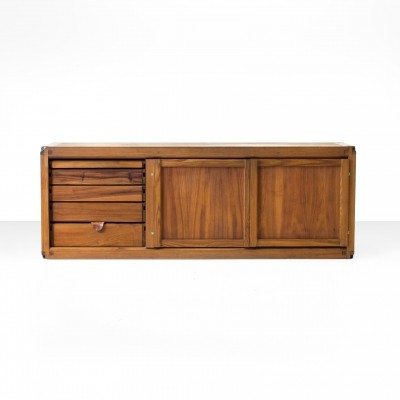 Pierre Chapo B10 - B E D Sideboard in Solid Elm, France 1970s