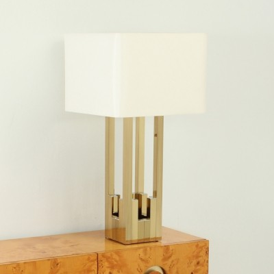 Large Lumica Brass Table Lamp