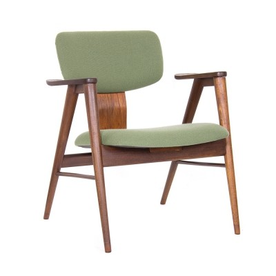 Rare FT14 armchair in teak by Cees Braakman for Pastoe