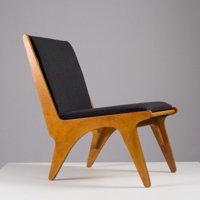 Dordrecht lounge chair by Wim van Gelderen for Spectrum, 1940s