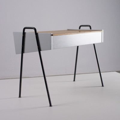 Rare Metalux storage side table by Joos Teders