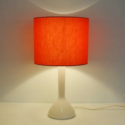 Kastrup Holmegaard table lamp with original shade