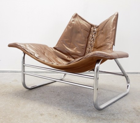 Vintage mid century Scandinavian lounge chair