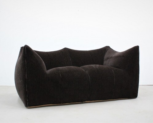 Vintage original 2-seater velvet 'Le Bambole' sofa by Mario Bellini for B&B