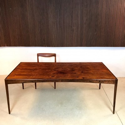 Rosewood Dining Table / Desk by Kristian Vedel for Søren Willadsen, 1960s