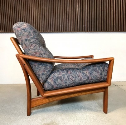 Danish Teak Easy Chair by Glostrup, 1960s