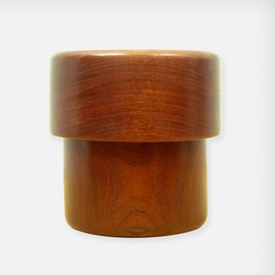 Very Rare Danish Teak Box by Kay Bojesen, 1950s