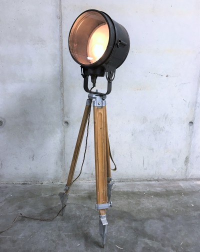 Vintage industrial floor lamp, 1970s