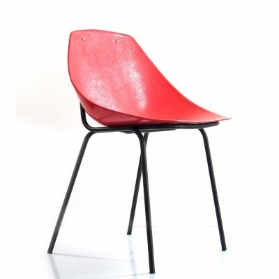 Dinner chair by Pierre Guariche for Meurop, 1950s