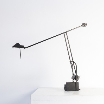 Halogen counter balance desk lamp for Fase, 1980s