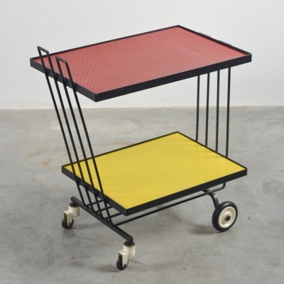 Perforated sheet metal trolley by DICO