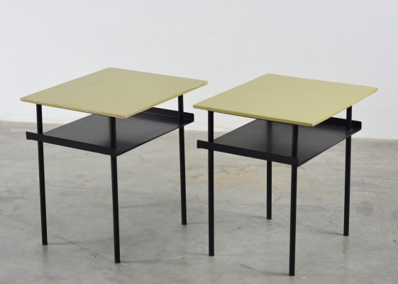 A-symmetrical night stands by André Cordemeyer for Auping