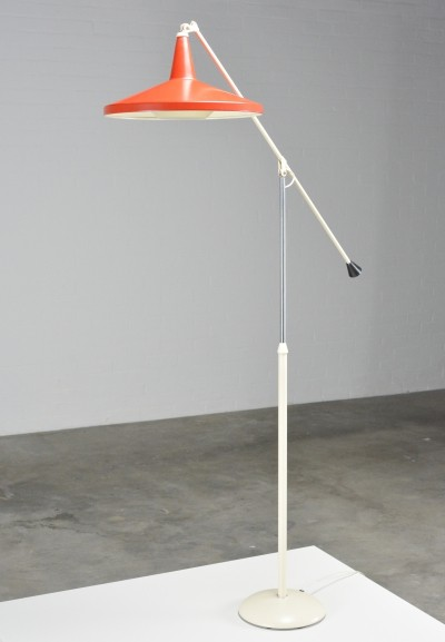 'Panama' floor lamp by Wim Rietveld for Gispen