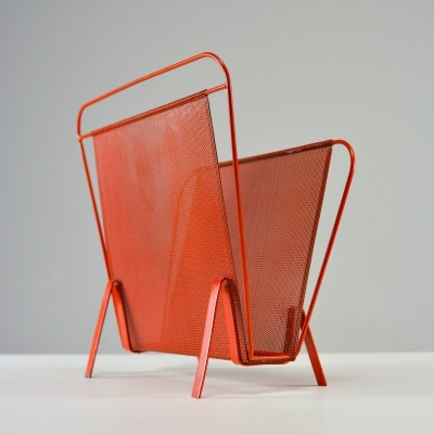 Magazine holder by Floris H. Fiedeldij for Artimeta