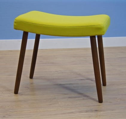 Danish footstool in teak, 1960s