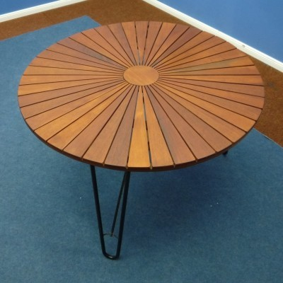 Teak Dining / Garden Table, Denmark 1960s