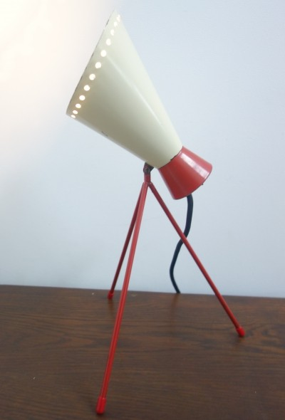 Model 1618 desk lamp by Josef Hůrka for Napako, 1950s