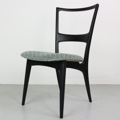 Set of 6 Italian Dining Chairs from the 1950s