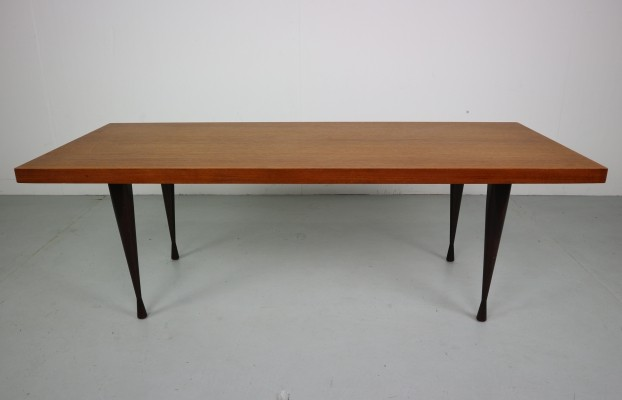 Mid century Danish coffee table in teak, 1970s