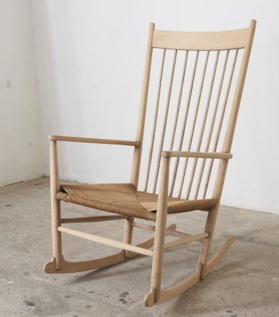 Hans Wegner J16 Rocking Chair, Denmark
