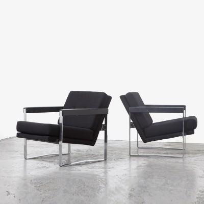 Hein Salomonson Pair of 'AP72' Easy Chairs for AP Originals