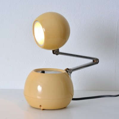 70s travel lamp