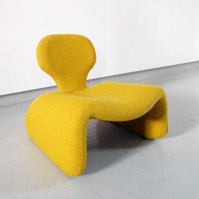 Yellow Djinn Chair by Olivier Mourgue, 1965 Airborne