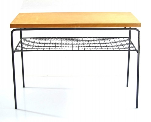 Scandinavian vintage 1950s side table by Exqvisita Style AB