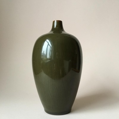 Mid-Century Danish Glazed Ceramic Vase by Gerd Bogelund for Royal Copenhagen