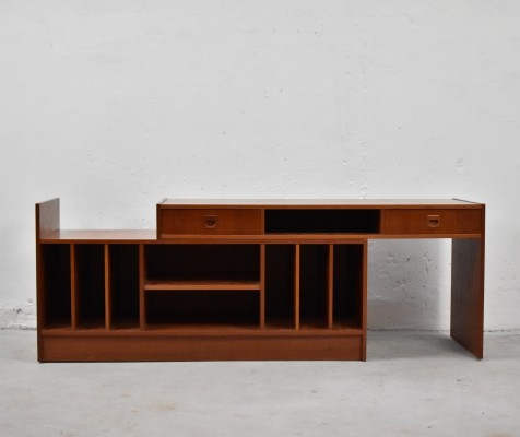 Side console with removable sliding top by Torbjørn Afdal, Norway 1960's