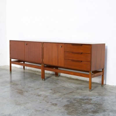 Constructivist Low Sideboard by Pieter De Bruyne for Al Meubel, 1959