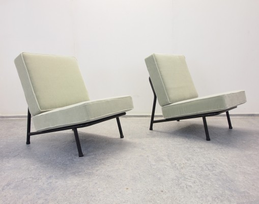 Mid Century lounge chairs by Alf Svensson for Artifort DUX