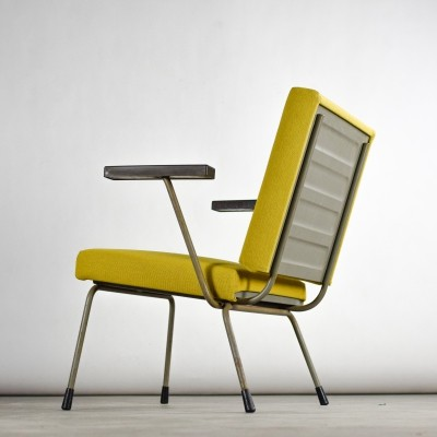 Industrial 'Model 415' lounge chair by Wim Rietveld for Gispen