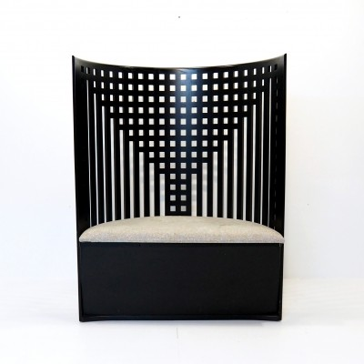 Willow chair by Charles Rennie Mackintosh, 1970's