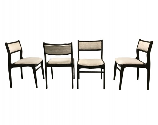 Scandinavian Mid Century Dining Chairs, 1960s