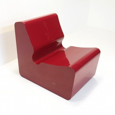 Funky fibreglass chair produced by Primo, London 1970's