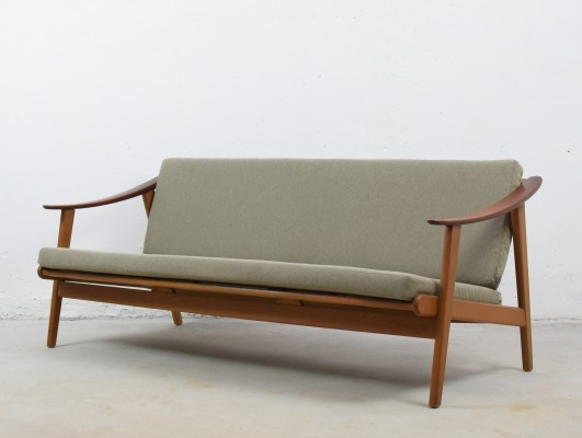 Modernist three seater sofa from Denmark, 1960's